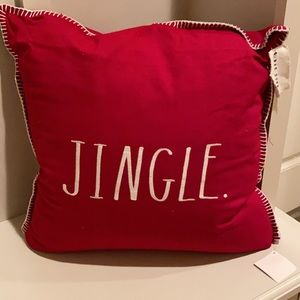 Rae Dunn Jingle Pillow